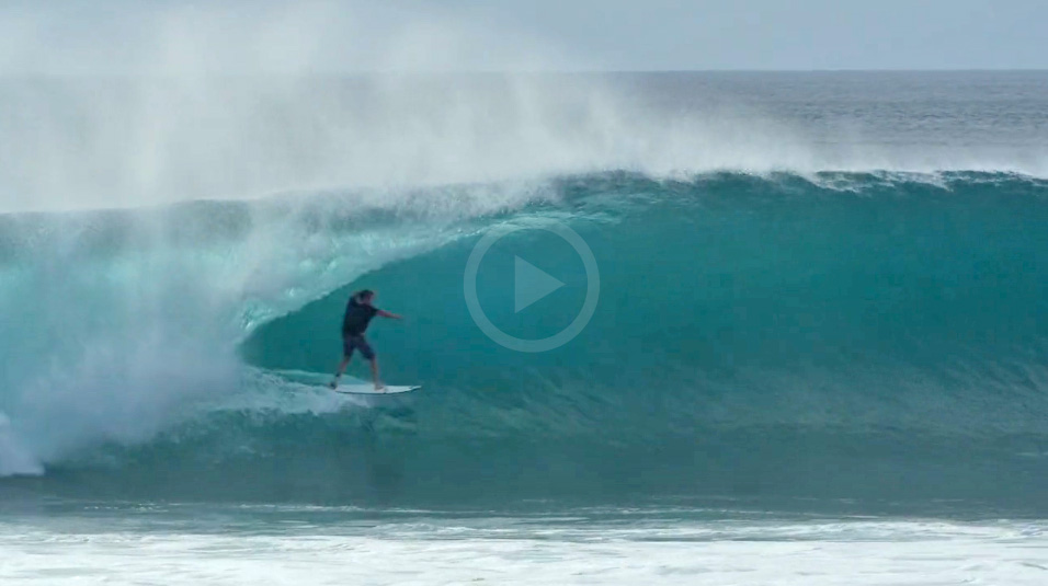 Video: Nick Vasicek Tearing Desert Point and Mentawai
