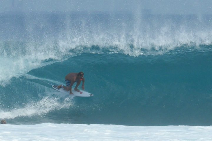 Video: Desert Point's Timeless Lines