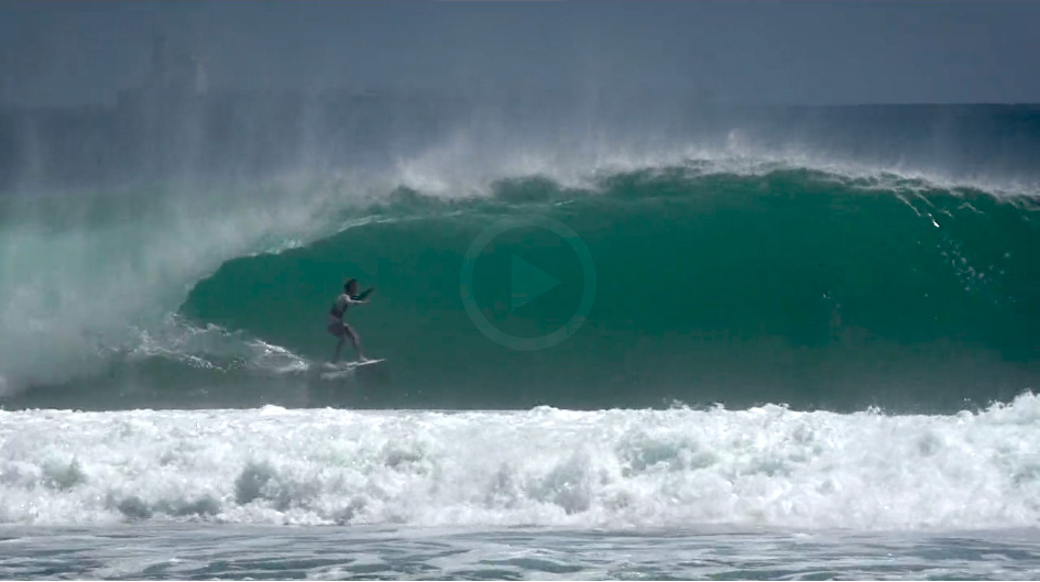 Video: Between Desert Point and Skeleton Bay
