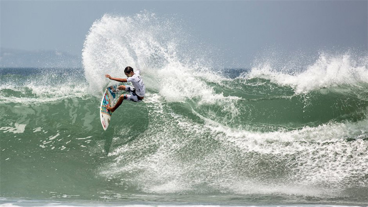 Ketut Agus And Varun Tandjung Triumph At Stop # 3 Of The Rip Curl Gromsearch Series