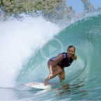 Video: Bethany Hamilton surfs Kelly Slater's wave pool