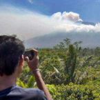 Bali Volcano's Alert Status Lowered
