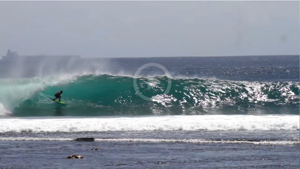 Video: Ryder Guest Get Barreled in Indonesia