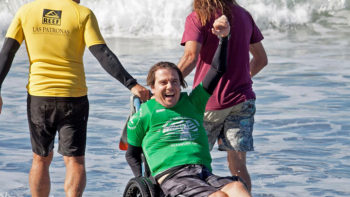 Barney Miller Wins Historic US Open Adaptive Surf Championship