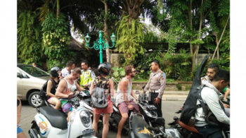 Bali Traffic Police Starts The Annual Operation Zebra
